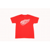 MAJESTIC-DETROIT RED WINGS ROTAL tee red