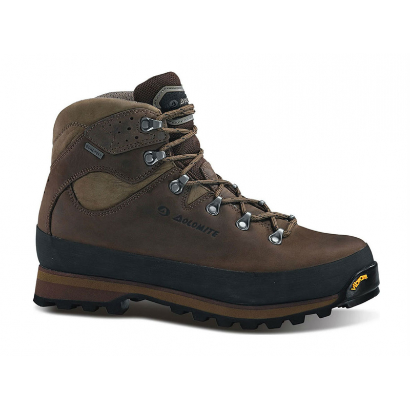 7ba60175fa97 Pánska turistická obuv vysoká DOLOMITE-TOFANA GTX DARK BROWN -