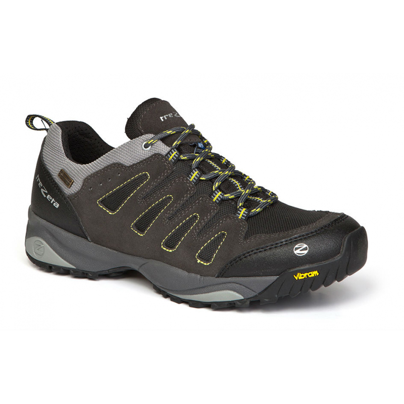 Pánska turistická obuv nízka TREZETA-CHINOOK LOW WP ANTHRAC-YELLOW 8e4b2d0df2