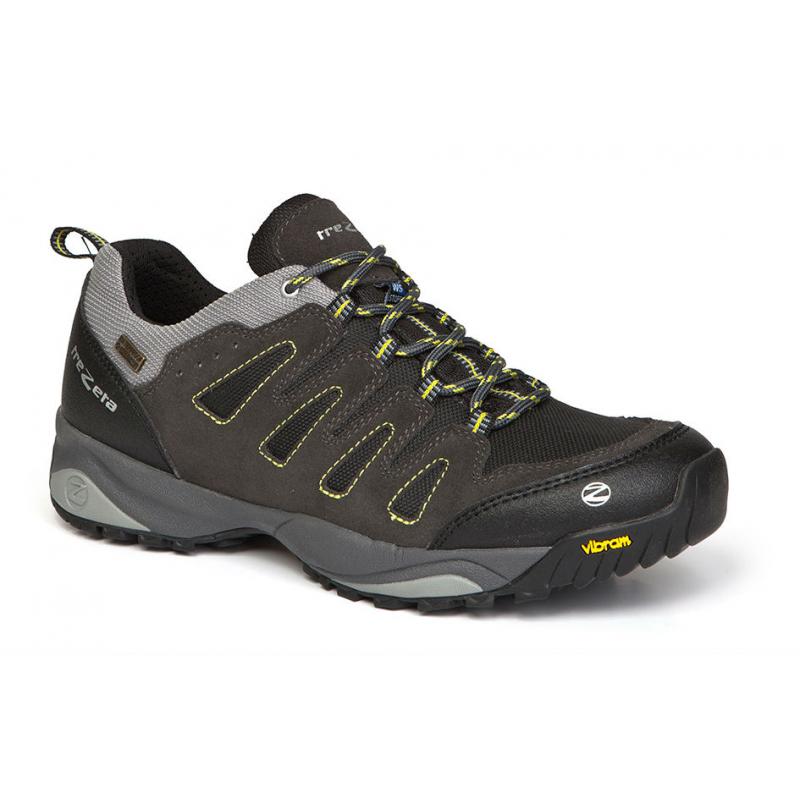 5478a0c78706 Pánska turistická obuv nízka TREZETA-(Z) CHINOOK LOW WP ANTHRAC-YELLOW -