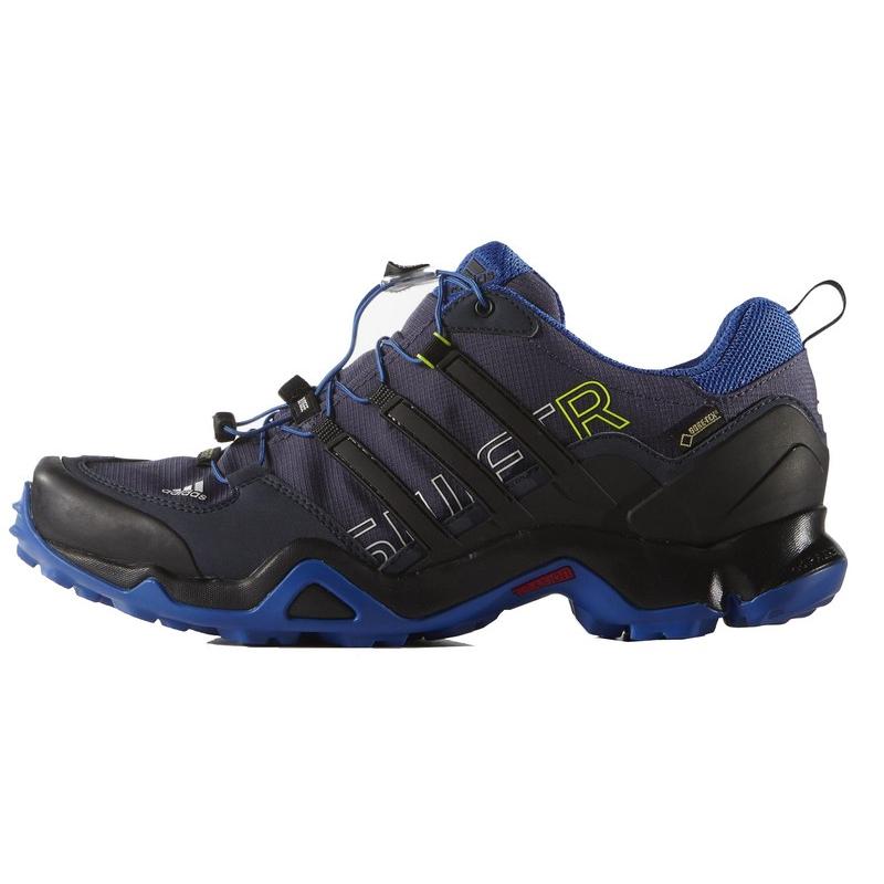 64e5a3e08 Turistická obuv nízka ADIDAS-TERREX SWIFT R GTX BLUE/MIDGRE/CBLACK -