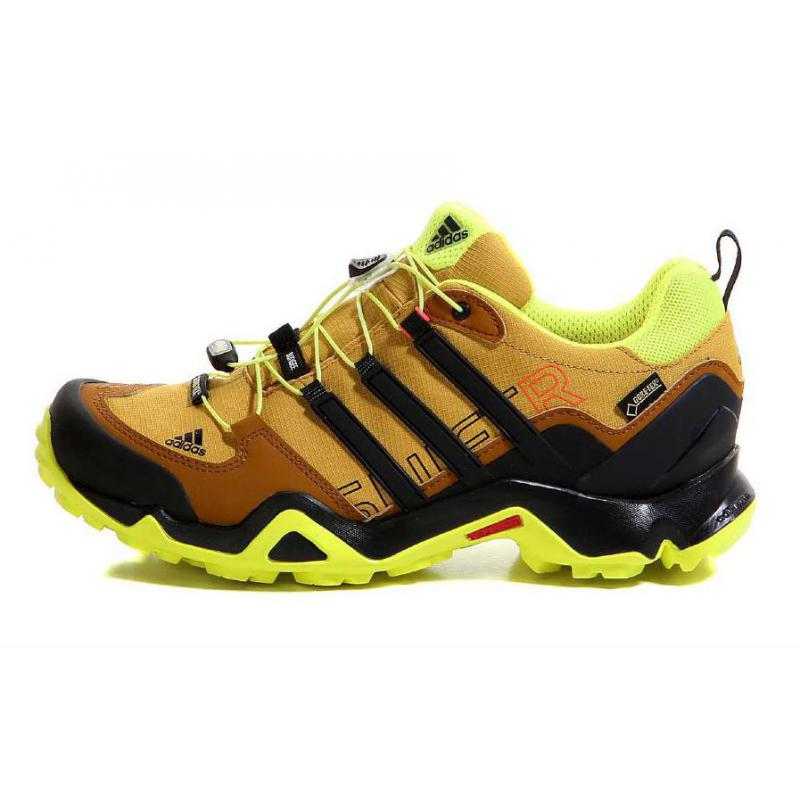 b1718873b Pánska turistická obuv nízka ADIDAS-TERREX SWIFT R GTX RAWOCH/CBLACK/SYELLO  -
