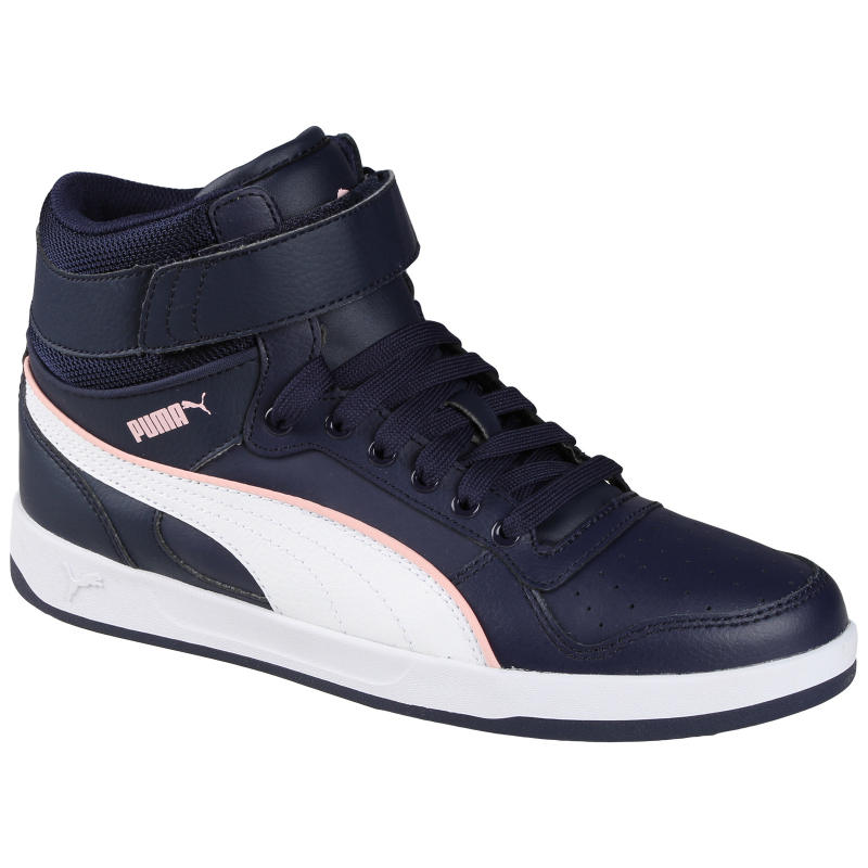 a302cb0c6002b Dámska rekreačná obuv PUMA-Puma Liza Mid peacoat-white