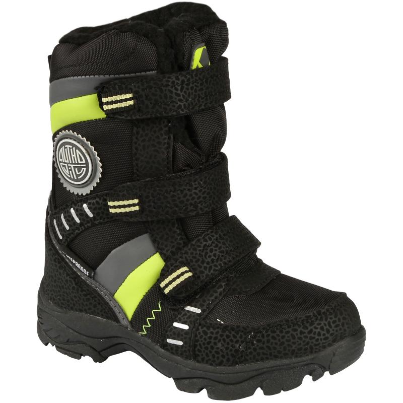 Chlapčenská zimná obuv vysoká AUTHORITY-RARON - Detské chlapčenské zimné  čižmy 6762a7e6541