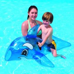 BESTWAY-46x28 Transparent Whale Rider