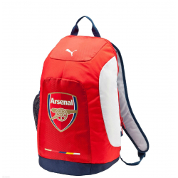 PUMA-Arsenal Graphic Backpack red-estate blue