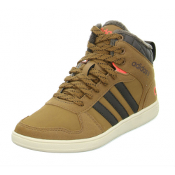 ADIDAS NEO-HOOPS WTR MID K Brown