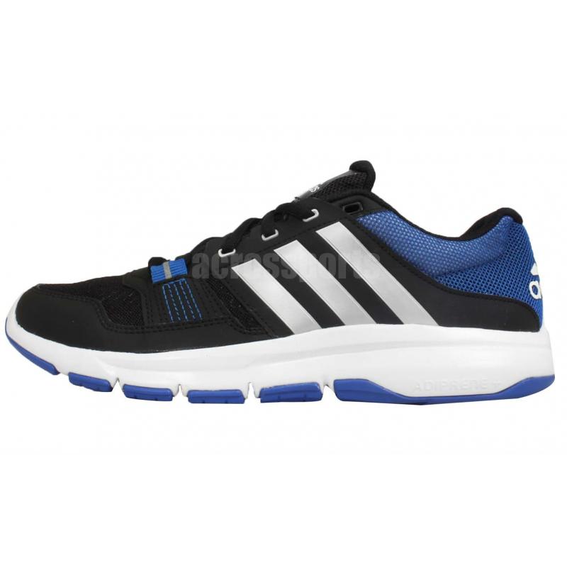 Tréningová obuv ADIDAS-Gym Warrior .2 BLACK SILVMT BLUE - ad59471c1d