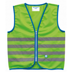 Reflexná vesta WOWOW Fun Jacket Green Small (5-7)