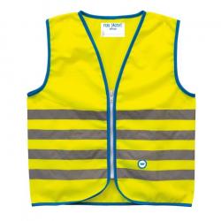 Reflexné prvky WOWOW Fun Jacket Yellow Small (5-7)