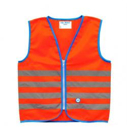 Reflexné prvky WOWOW Fun Jacket Orange Small (5-7)