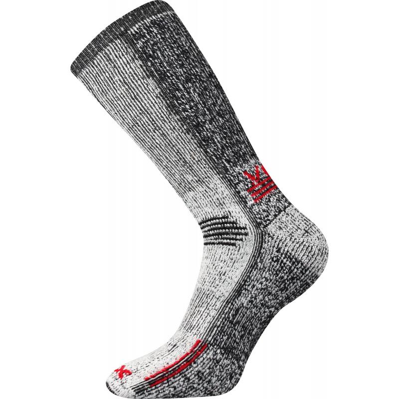 Turistické ponožky VOXX Orbit RED t.t. D - ac2fb4ad80