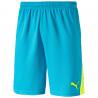 PUMA-BTS Shorts - atomic blue-safety yellow