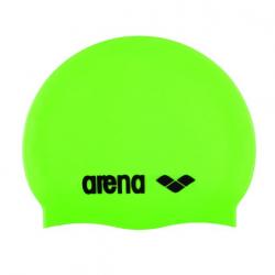 Plavecká čiapka ARENA Clasic Silicone Cap - acid lime-černá