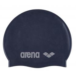 Juniorská plavecká čiapka ARENA Clasic Silicone Jr. - denim-stříbrná