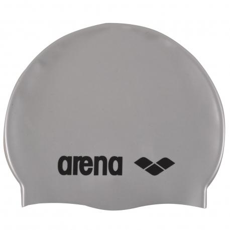 Juniorská plavecká čiapka ARENA-Clasic Silicone Jr. - grey