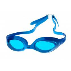 Juniorské plavecké okuliare ARENA-Spider Jr. light blue-blue