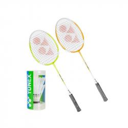Badmintonový set YONEX-SET GR 505 2RAKETY + 2KS KOSIKY