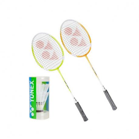 Badmintonový set YONEX-SET GR 505 2RAKETY+2KS KOSIKY