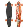 "STREET SURFING Longboard  KICKTAIL 36"" Damaged Orange 100"
