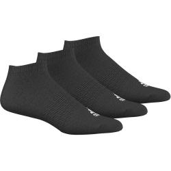 Športové ponožky ADIDAS-NO SHOW BLACK 3PAR
