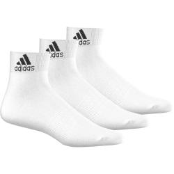 Športové ponožky ADIDAS-ANKLE WHITE 3PAR