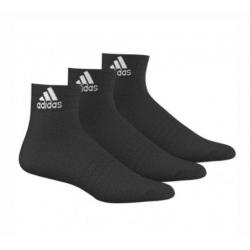 Športové ponožky ADIDAS-ANKLE BLACK 3PAR