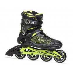 Pánske fitness kolieskové korčule FILA SKATES-PRIMO AIR FLOW BLACK/LIME