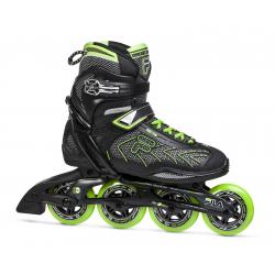Fitness kolieskové korčule FILA SKATES-PLUME 90 BLACK/GREEN