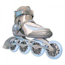 Fitness kolieskové korčule SULOV VIKTORIA BLUE 90/100mm 85a ABEC9 TRL