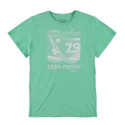 Pánske tričko s krátkym rukávom BRUNOTTI-Andante P-150 laguna