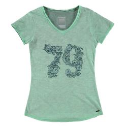 Dámske tričko s krátkym rukávom BRUNOTTI-Bedia laguna