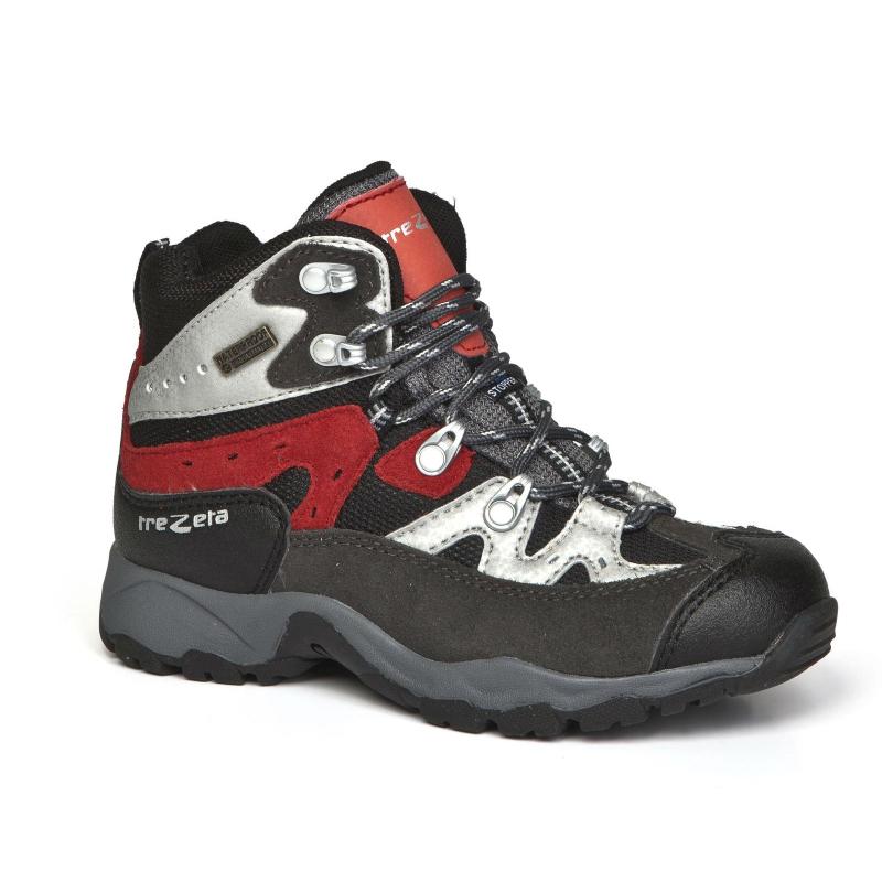 c5f992cd70a2 Turistická obuv stredná TREZETA-IDAHO EVO JR WP DARK GREY-RED -