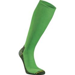 Bežecké kompresné podkolienky SEGER Running Mid Compression Neon Green