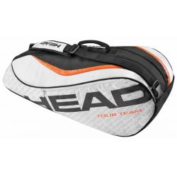 Taška na tenisové rakety HEAD-TOUR TEAM COMBI 6R BLACK