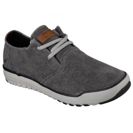 Rekreačná obuv SKECHERS-OLDIS STOUND BKGY