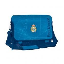 Taška cez rameno REAL MADRID RMA BL/WH Taška na rameno MIR BLK A