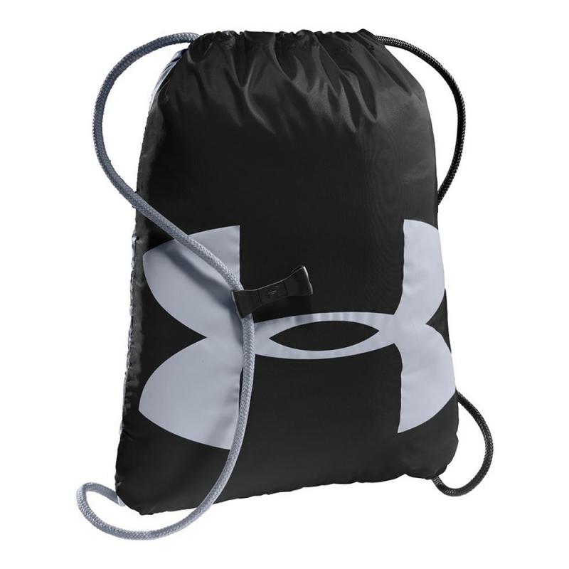 Vrecko na prezúvky UNDER ARMOUR-UA Ozsee Sackpack - Black - Praktické vrecko na prezuvky alebo športové vybavenie značky Under Armour.