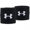 UNDER ARMOUR-UA PERFORMANCE WRISTBANDS-BLACK
