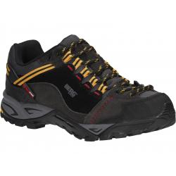 Pánska turistická obuv nízka BERG OUTDOOR-HARE_WP_MN_BK_OD:RAVEN