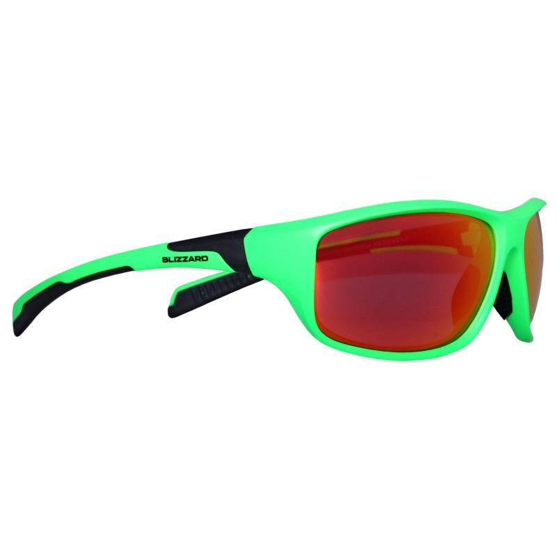 Športové okuliare BLIZZARD sun glasses POL202-446 neon green matt 1b50a777935
