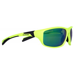 BLIZZARD-Sun glasses POL202-554 neon yellow matt, POL