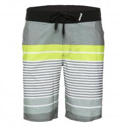 REHALL-KAPALUA lime grey stripes