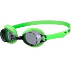 Juniorské plavecké okuliare ARENA-Bubble 3 Jr. neon green-smoke