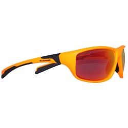BLIZZARD-Sun glasses POL202-886 neon orange matt, POL