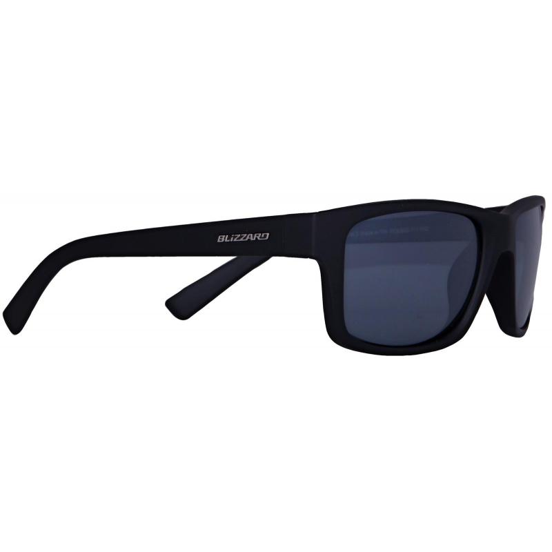 3b0f3392f BLIZZARD-1K sun glasses POL602-111 rubber black, POL | EXIsport Eshop