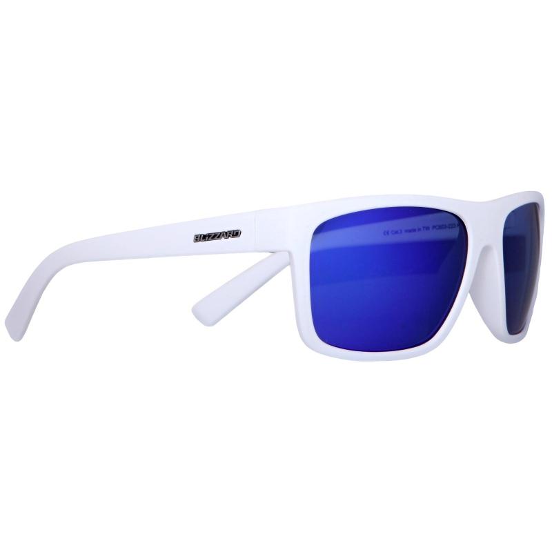 47a9334df BLIZZARD-1K sun glasses PC603-223 rubber white | EXIsport Eshop