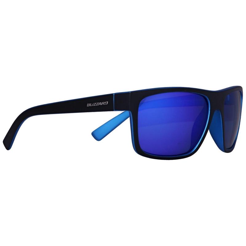 Športové okuliare BLIZZARD sun glasses PC603-313 metal blue matt outside b  - Slnečné b06e372cca3