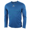 ADIDAS-RUN LS TEE M blue
