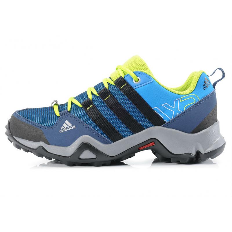 Turistická obuv nízka ADIDAS-AX2 CP SHOBLU CBLACK SESOSL - Univerzálne  dámske turistické 894a407040c